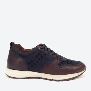 Gordon Rush Rubin Leather & Suede Low-Top Sneakers